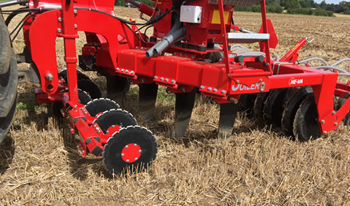 Evolution Rape Seeder Disc Openers