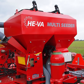 HE-VA Multi-Seeder Twin Hopper