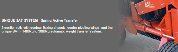 Unique weight transfer system