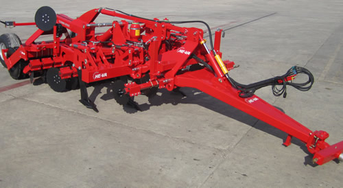 Trailed Combi-Disc Tine and Disc Cultivator