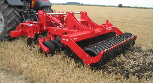 Mounted Combi-Disc Tine and Disc Cultivator