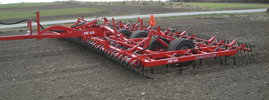 Euro Tiller seedbed preparation