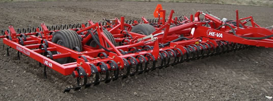 Euro-Tiller Seedbed Preparation