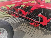 Disc Roller Contour Following Harrow