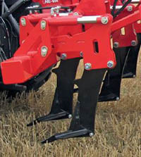 Combi Disc Cultivator Leg and Points